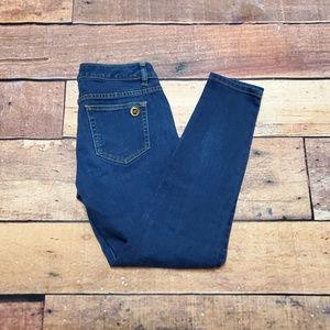 Michael Kors Skinny Jeans Size 2 | Dark Zipper Pkt
